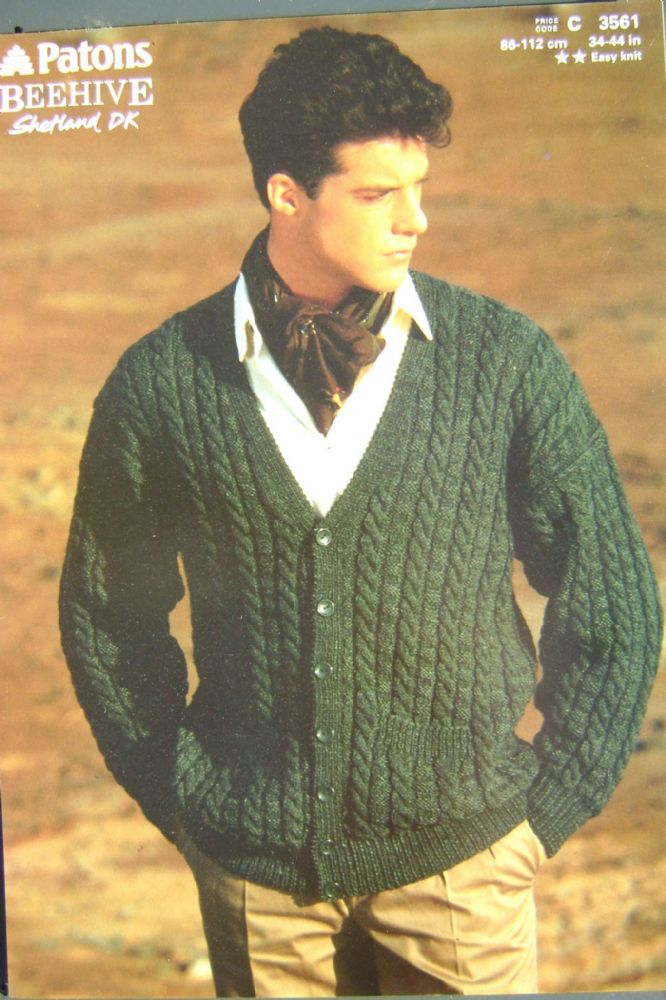 Patons Knitting Pattern 3561
